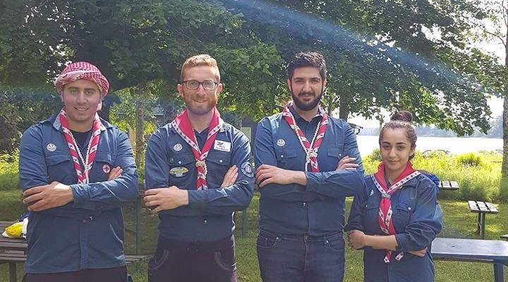 Scouterna i Avesta